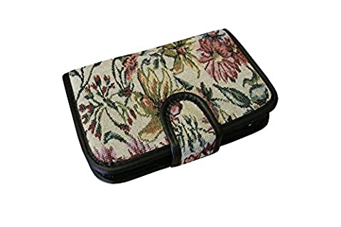 Real Tapestry 7 Days Pill Organiser Pill Box 28 Compartment Pill Box With Pill Wallet