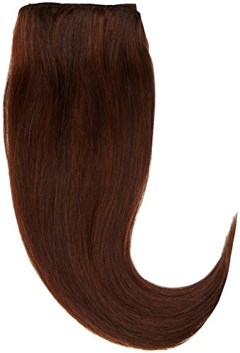 1st Lady soyeuse droite trame européenne naturel extension de cheveux humains avec de mélange tissage 80 g, Nombre P4/33, Chocolat/cuivre Riche Rouge, 30,5 cm