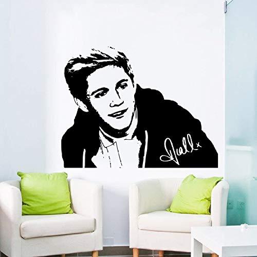 jiuyaomai Portrait Series Wandbild 1d One Direction Niall Wandaufkleber Home Schlafzimmer Kunst Dekorative Wandtattoos 4 75x100cm