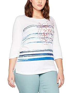 Sheego, Camiseta de Manga Larga para Mujer