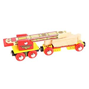 Bigjigs Rail Wagon poseur de voies