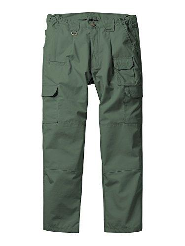 Phorecys Pantalones tácticos ligeros para hombres Pantalones multibolsillos Army Green 32