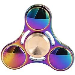 TANAINA Tri Fidget Hand Spinner Toy, Nuevo Tri Fidget mano Spinner mixta cerámica teniendo escritorio juguete EDC