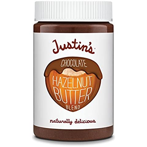 Justin's Nut Butter - avellana de mantequilla mezcla Chocolate - 16 oz.