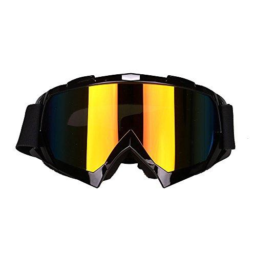 Rosepoem Skibrille-Winter Snow Sports Snowboard über Brille mit Anti-Fog-UV-Schutz Doppellinse für Herren Damen & Jugend Schneemobil Skifahren Skating
