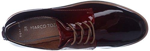 Marco Tozzi Damen 23200 Oxfords Rot (Merlot Patcom)