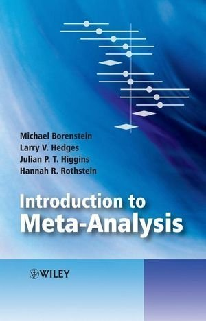 Introduction to Meta-Analysis (Statistics in Practice) by Borenstein, Michael Published by Wiley 1st (first) edition (2009) Hardcover