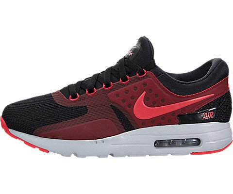 Nike Air Max Zero Essential Shoe Black Bright Crimson-Gym Red-Wolf Grey -  45 EU 699bdaeaf