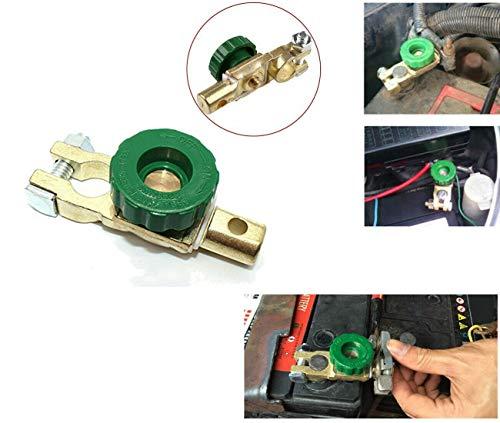 TI-Zeta Morsetto Interruttore Stacca Batteria per Auto, Moto, Barch