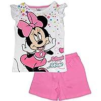 Disney Minnie Mouse Girls Summer Pajamas