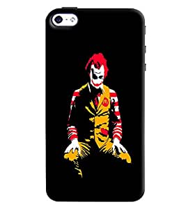Clarks Mc Donalds Hard Plastic Printed Back Cover/Case For Apple iPhone 4s