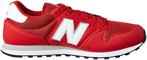 New Balance Gm500, Chaussures Homme rouge/blanc