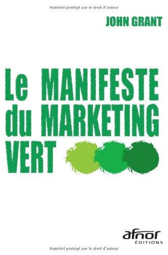 Le manifeste du marketing vert