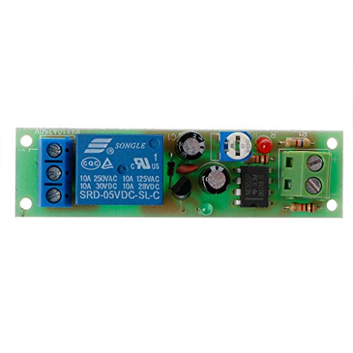 LANDUM NE555 Relais DC 5V Timer Einstellbare Verzögerung Ausschalten Schalterrelais-Modul einschalten -