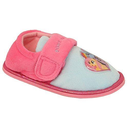 Filles Enfants Quality My Little Pony Suzanna Bd Personnage Dessin Animé Chaussons Bottines - Multicolore, UK 12/EU 30 - Préscolaire