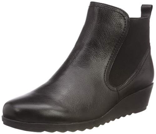 CAPRICE Damen 25409 Chelsea Boots, Schwarz (Black Nappa 22), 38 EU