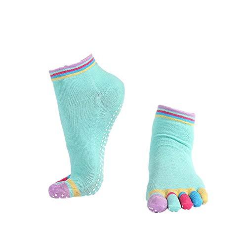Cosanter Zehensocken Funktions Sportsocken mit einzelnen Zehen für Yoga Laufen Marathon Running -