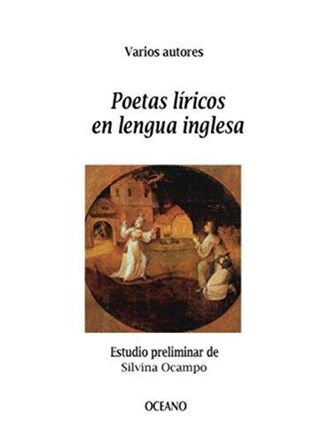 Poetas líricos en lengua inglesa (Biblioteca Universal) por Varios