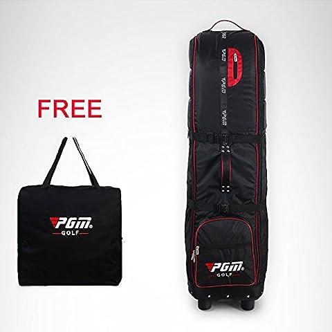 PGM funda de viaje bolsa–--- acolchado., con ruedas, plegable, libre enviar una bolsa de almacenamiento, # hkb009,