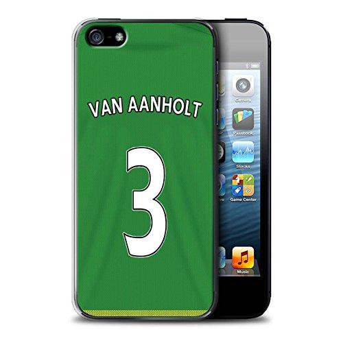 Offiziell Sunderland AFC Hülle / Case für Apple iPhone SE / Pack 24pcs Muster / SAFC Trikot Away 15/16 Kollektion Van Aanholt