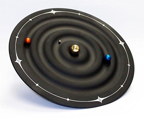 Technoline, WT 7350 Galaxy Clock, Ø 21,5cm, schwarz