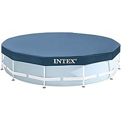 INTEX Bâche de protection Pour Piscine Tubulaire Ou gonflable Ø 4,57 M