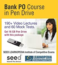 Bank PO Course in Pendrive