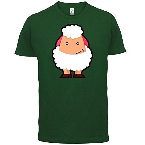 Cute Sheep - Herren T-Shirt - 13 Farben Flaschengrün