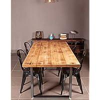 tavoli legno massello - 8 / Arredamento: Casa e ... - Amazon.it