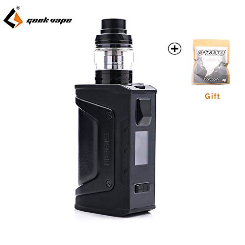 Geekvape Aegis Legend Kit mit Aero Mesh Version Unter Ohm Tank (Ohne Batterie)- Kein Nikotin, Keine E Flüssigkeit (Stealth black)