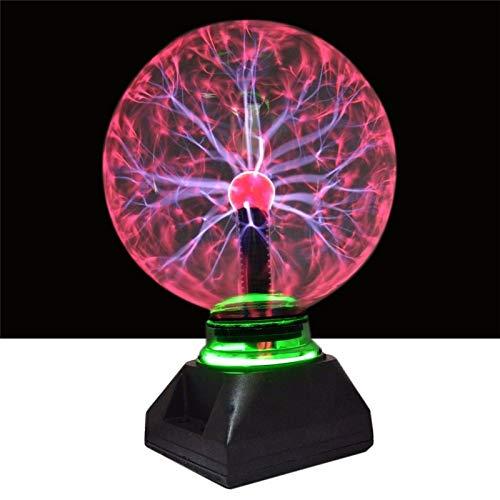 Fengdp Xmas4 5 6 8 Zoll Plasma Ball Glas Licht Kristall Licht Plasma Ball Lampe Für Weihnachten Dekoration Beleuchtung Kinder Geschenke -