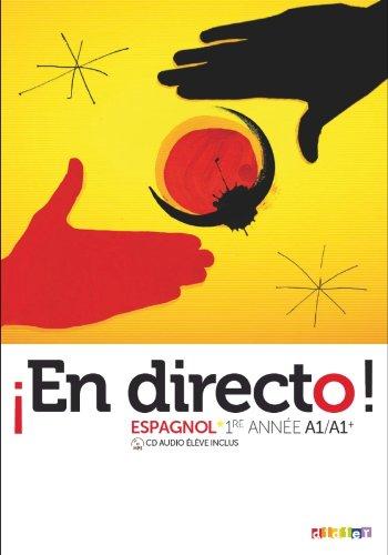En directo 1re année - Livre + CD