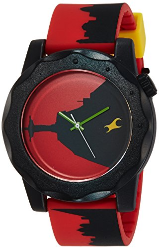 411ghznedqL - 38022PP10J Fastrack Multi Colour Mens watch