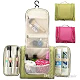 SHOPEE BRANDED Portable Large Hanging Toiletry Bag Travel Bag Waterproof Cosmetic Makeup Bag Bathroom Storage...
