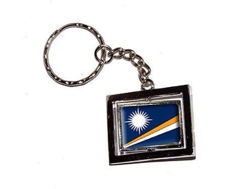 Land Marshall-inseln (Marshall Inseln Land Flagge–New Schlüsselanhänger Ring)