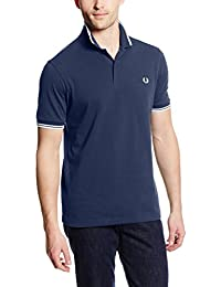 Fred Perry Twin Tipped Fred Perry Shirt Service Blue, Polo