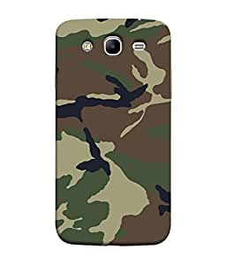 PrintVisa Designer Back Case Cover for Samsung Galaxy Mega 5.8 I9150 :: Samsung Galaxy Mega Duos 5.8 I9152 (Army Pattern Colour Design)