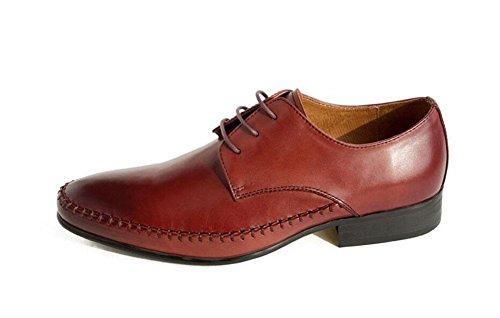 SHIXR Männer Oxford 2017 neue Business Suits Schuhe britischen Mode Schuhe Kopf Rindsleder Hochzeit Schuhe Lace Schuhe wine red