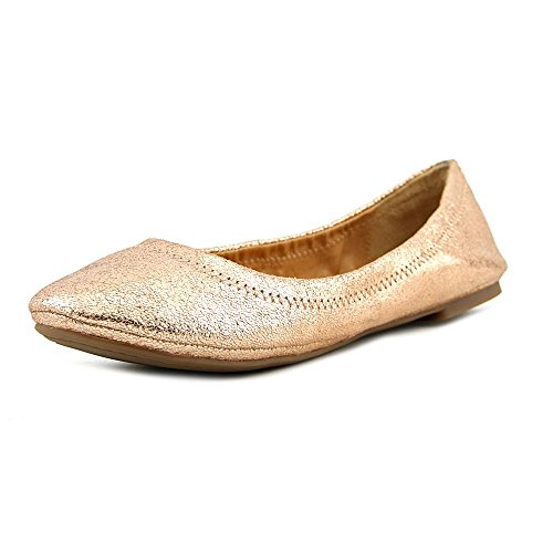 Lucky Brand Emmie Large Cuir Ballerines Blush