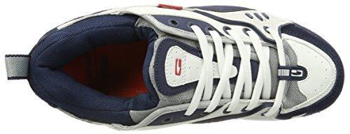 Globe Herren CT-IV Classic Sneaker Mehrfarbig (white/blue)