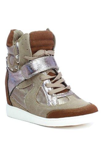 Go Tendance, Damen Sneaker Braun - braun