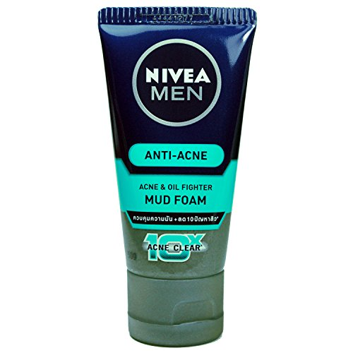 nivea-men-acne-oil-control-mud-foam-face-wash-cleanser-50g