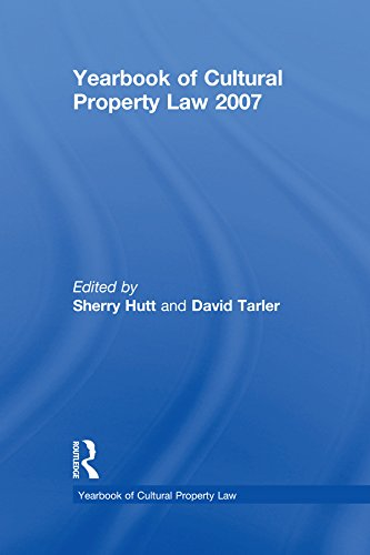 Yearbook of Cultural Property Law 2007 (English Edition)
