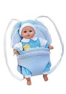 ARIAS Tender Baby 30Cm muñeca con Carrito de bebé (Azul)