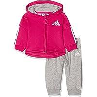 adidas i St Fzh Jog Fl, Tuta Unisex Bambini, Rosa (Bayint/Brgrin/Bianco), 92