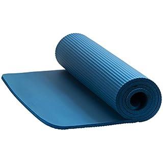 ENERGETICS Fitnessmatte NBR 185 x 100 cm, Blau, One Size