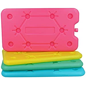com-four® Kühlakkus extrem flach in bunten Farben – große und kleine Kühlelemente für Kühlbox und Kühltasche