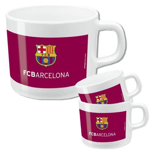F.C. Barcelona taza con asa melamina 6 cm