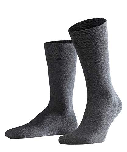 FALKE Sensitive London Kurzstrumpf 14616 Herren Str?mpfe & Strumpfhosen/Str?mpfe & Socken/Socken, Gr. 39/42 Grau (anthra. mel 3080)