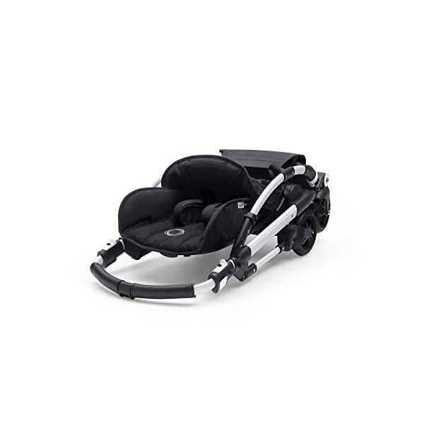 Bugaboo Bee 5, Foldable and Lightweight Pushchair, Converts Into Pram, Black Bugaboo The perfect choice for city living Compact yet comfortable for parent and baby Light and easy one-piece fold for small spaces 3